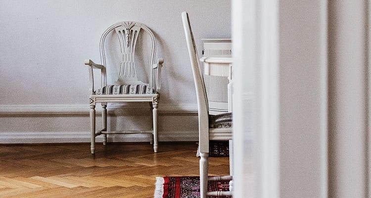 Furniture on Hardwood Floors